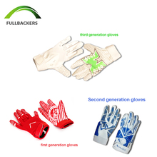 Hot sale factory custom American football gloves