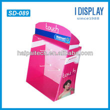 cosmetic display exhibition stand 3d models stand cardboard advertising display stands