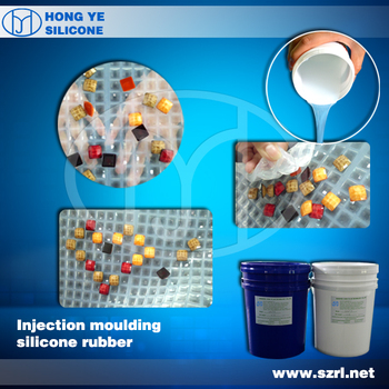 Injection mold making silicone rubber for many products mold making