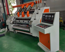 Cartons packaging Type and New Condition Single face corrugation machine