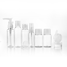 10Pcs Convenient Transparent Easy Taking Toiletries Bottles