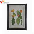 cactus theme simple small black wall picture frames