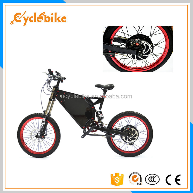 5000W off road 80KM long range enduro e-bike with lithium battery