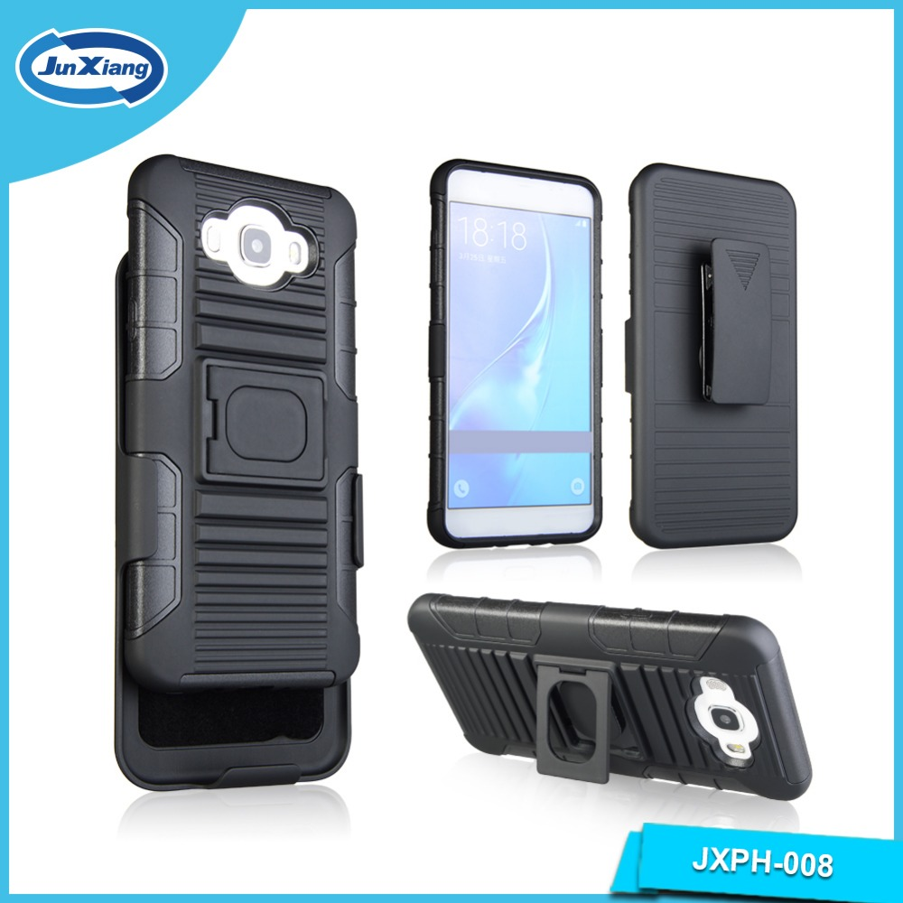 PC TPU Combo Phone Case for Samsung Galaxy j7 2016 j710 Heavy Duty