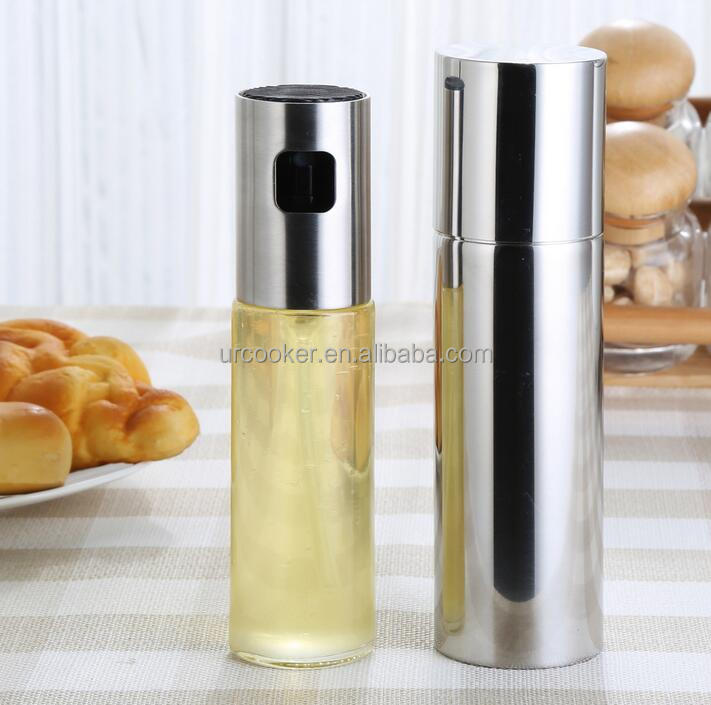 Kitchen Gadget Olive Oil Air Pressure Only Clog-Free Sprayer for oil and vinegar