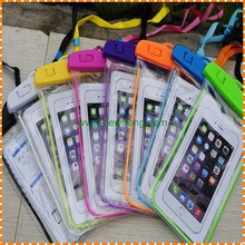best colorful pvc universal mobile cell phone bag pouch carrying cover waterproof phone case for iphone 7 6S plus