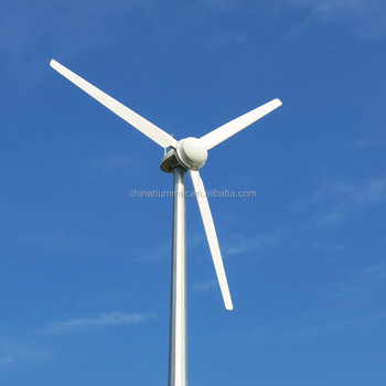 wind powered turbine generator 5KW