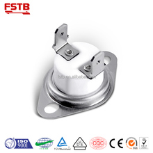 Water Dispenser Normal Closed Bimetal Disc Thermostat Snap action KSD301 40-210 Celsius Temperature switch