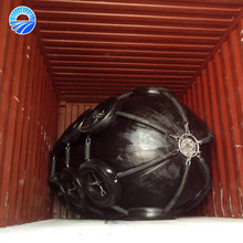 Floating Type Rubber pontoon fenders for Ship to Ship / Ship to Wharf