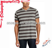 Bulk sale high quality cosy striped t shirt