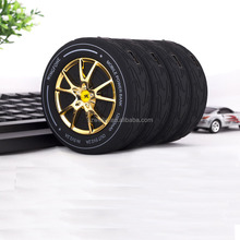New arrive 6000mah portable wheel power bank,car tyre shape power bank,hot sale wheel battery charger