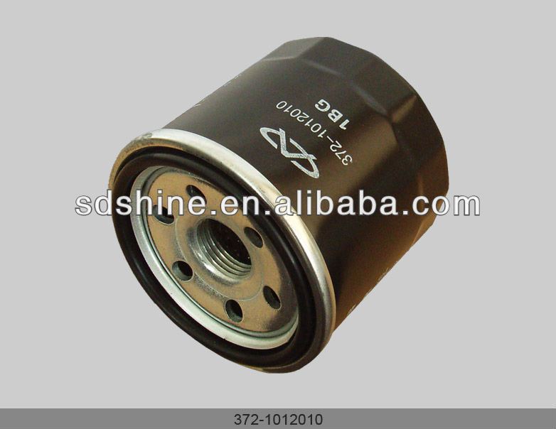 Chery QQ oil filter, Chery 800CC engine oil filter,372-1012010