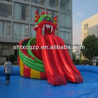 commercial grade inflatable water slides made in China