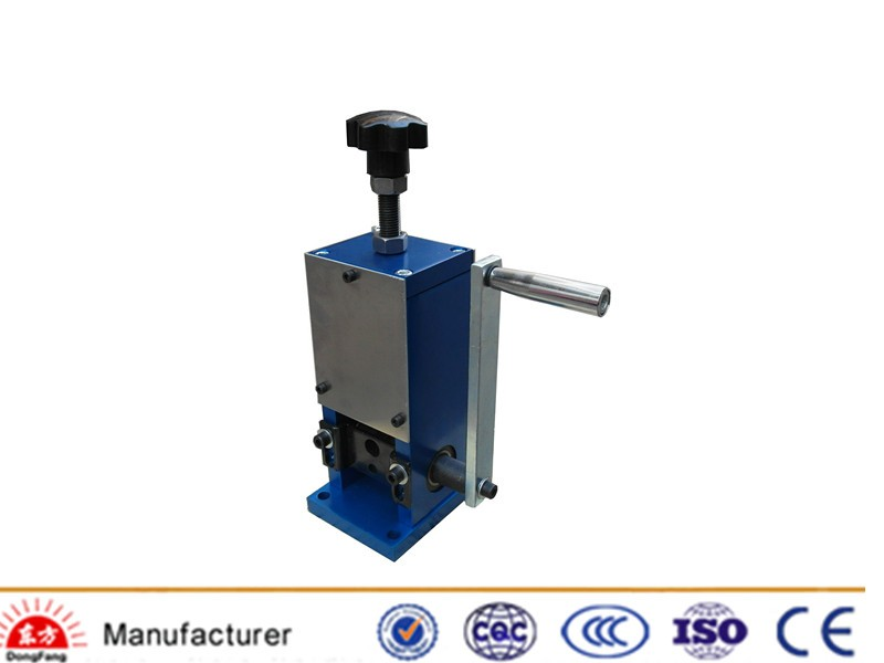 Small Machines To Make Money Manual Wire Stripping Machine Copper Scrap Cable Striper In Cable Making Equipment