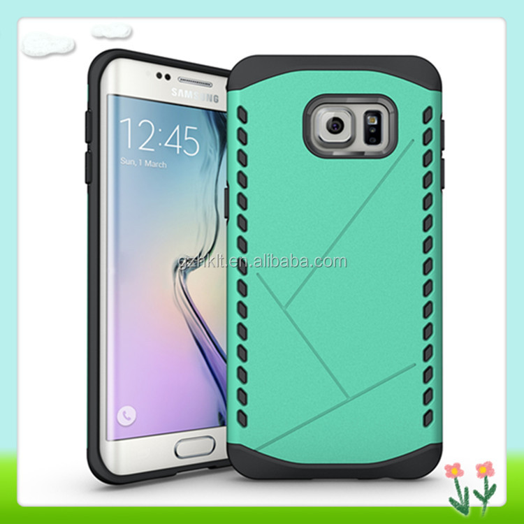 New Style Ultra Thin Mint Shield Bumper Cell Phone Case For Samsung For Galaxy S6 edge plus