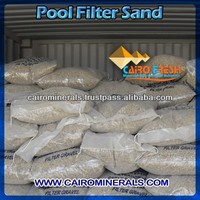 High Graded Round Silica sand For swimming pool