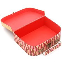 Wholesale Mini Paper Cardboard Suitcase Shaped Gift Box For Kids