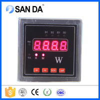 Panel mounted single phase smart power meter wattsmeter