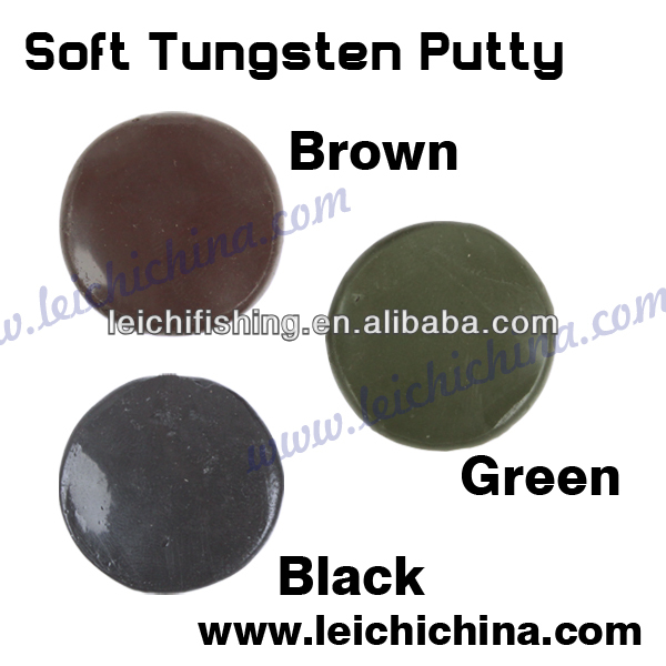 Carp fishing tackle heavy metal soft sink tungsten putty