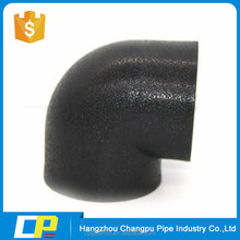 Socket fusion hdpe pipe fitttings 90 deg elbow