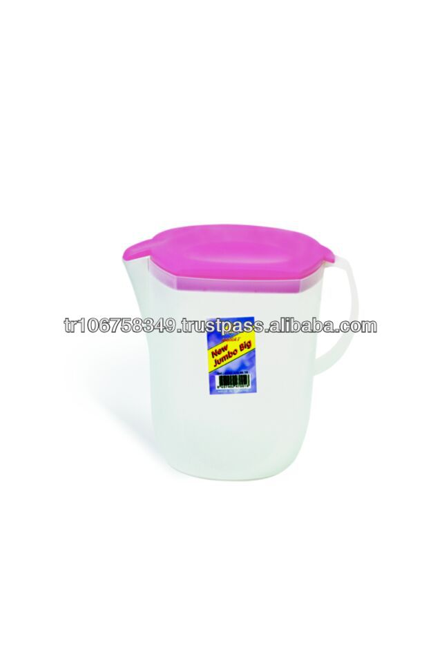 plastic pitcher with lid