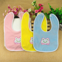 Baby Bibs 2016 Fashion Infant Cartoon Waterproof Babadores Toddler Saliva Towels Burp Cloths For Children Self Feeding Care BB81