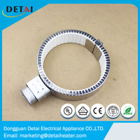 Electric ceramic band heater for industrial extruder