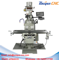 good quality vertical turret milling machine for metal processing
