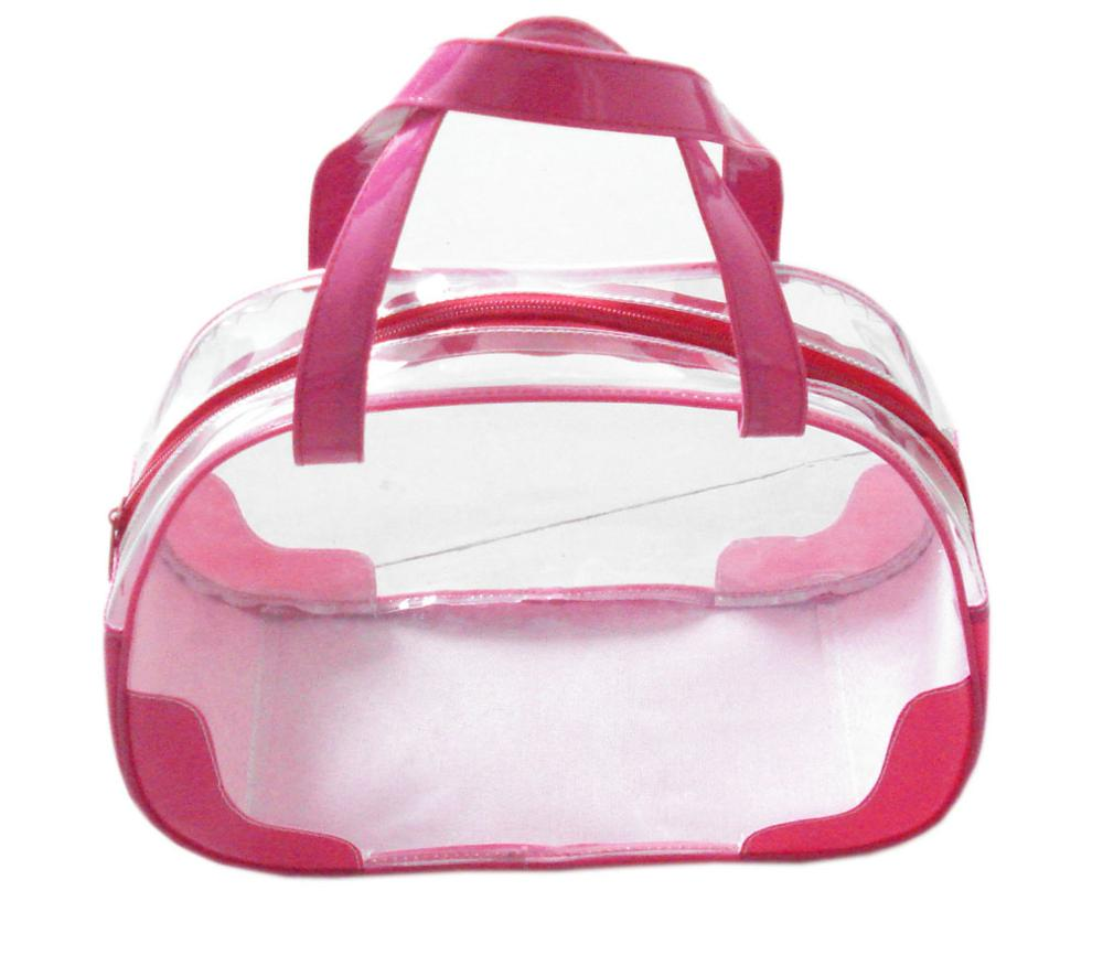 Newest Very Cheap transparent pvc bag for <strong>cosmetics</strong>