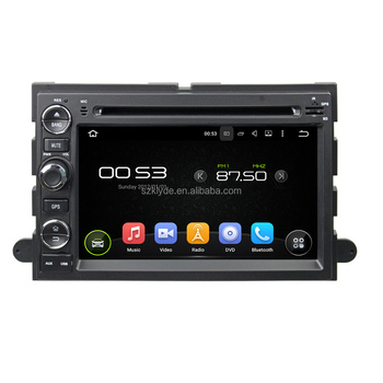 Android 5.1.1 system 1.6GHz Main Frequency 16 GB Nand Flash car gps navigation for Fusion/Explorer/F150