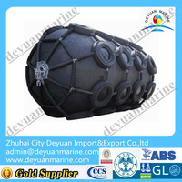 Natural rubber pneumatic marine fender
