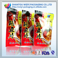 Printing snack packaging bag for dried meat