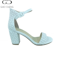 SILENCE Top selling china wholesale sandals new model women sandals girls latest high heel sandals