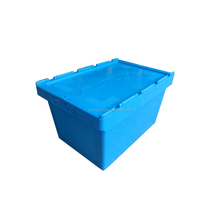 With Match Skate Moving Turnover Warehouse Plastic Storage Bins