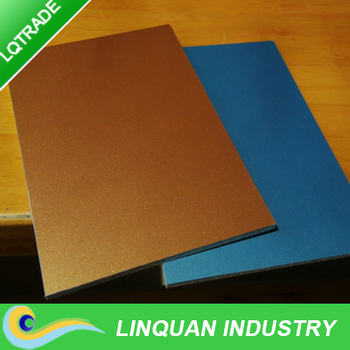Made in China large size fireproof aluminium composite panel