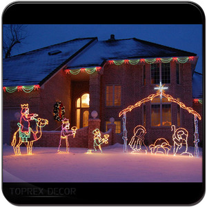large outdoor nativity large outdoor nativity suppliers and manufacturers at alibabacom - Outdoor Christmas Decorations Nativity Scene