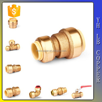 (2C-JELLY248) Lead free brass pe plastic carbon steel pvc stainless steel metal brass pipe fitting
