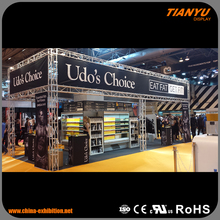 black truss booth
