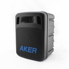aker professional portable PA system amplifier