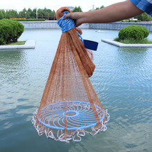 Tyre cord Drawstring cast net multifilament fishing net