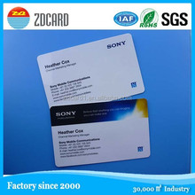 Brand newly design pvc combi smart card