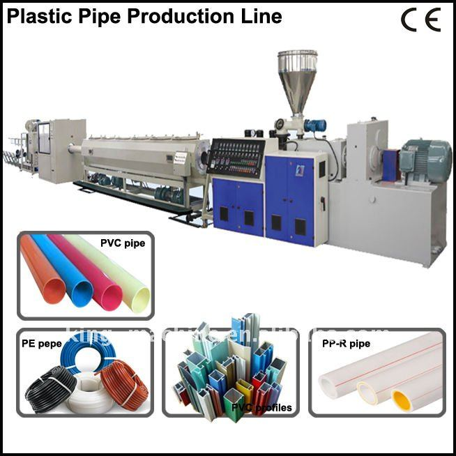 Auotmaitc Drain Pipe Production Line/Extrusion Machine