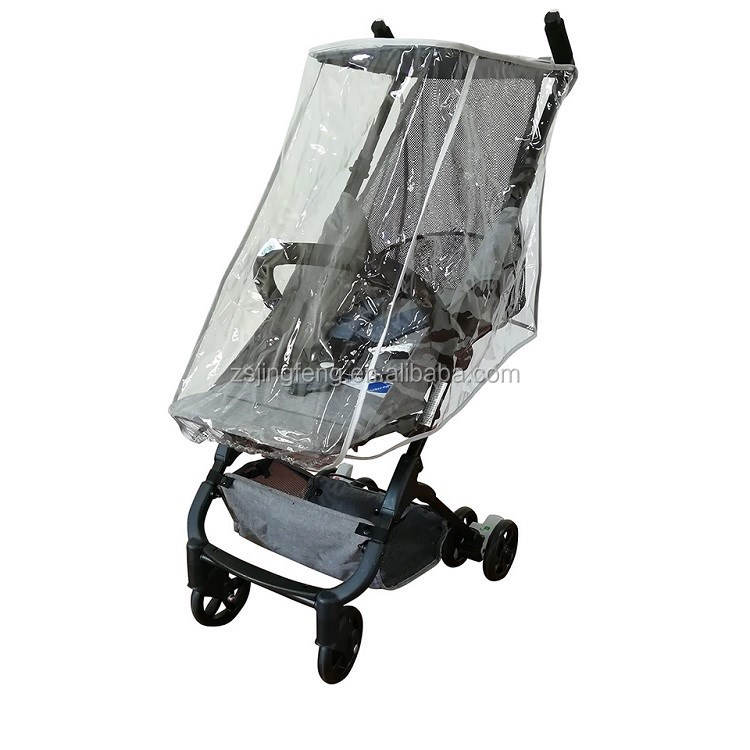 High Quality Baby Stroller Rain Cover with Fluorescent Edge