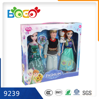 2015 New Product Plastic Cheap Lovely Barbie Doll for Children Girls 9239