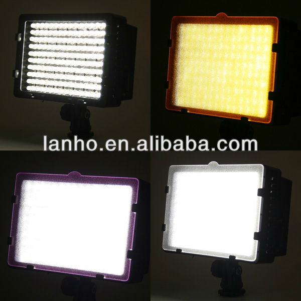 Pro CN-160 LED camera video lamp light for Canon Nikon