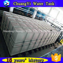 school student drinking use 40 cubic meter setcional water tank, GRP sectional water tank with food grade