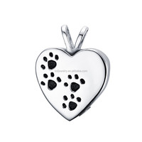 KSF Stainless Steel Cremation Urn Pet Memorial Pendant Jewelry