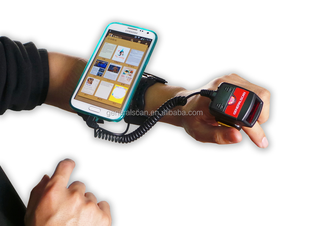 barcode reader android data terminal wearable barcode reader product