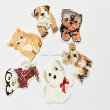 NF0096 Hot Sale Creative DIY Handmade Clothes Patch Stickers Embroidery Iron On Pet Cloth Patch Accessories