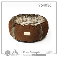 Low MOQ service luxury pet dog bed wholesale